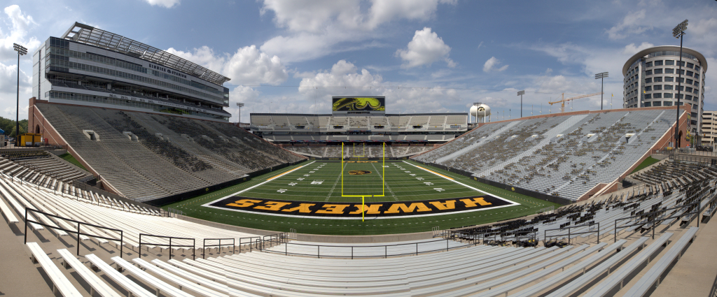 Kinnick Stadium, Iowa Hawkeyes