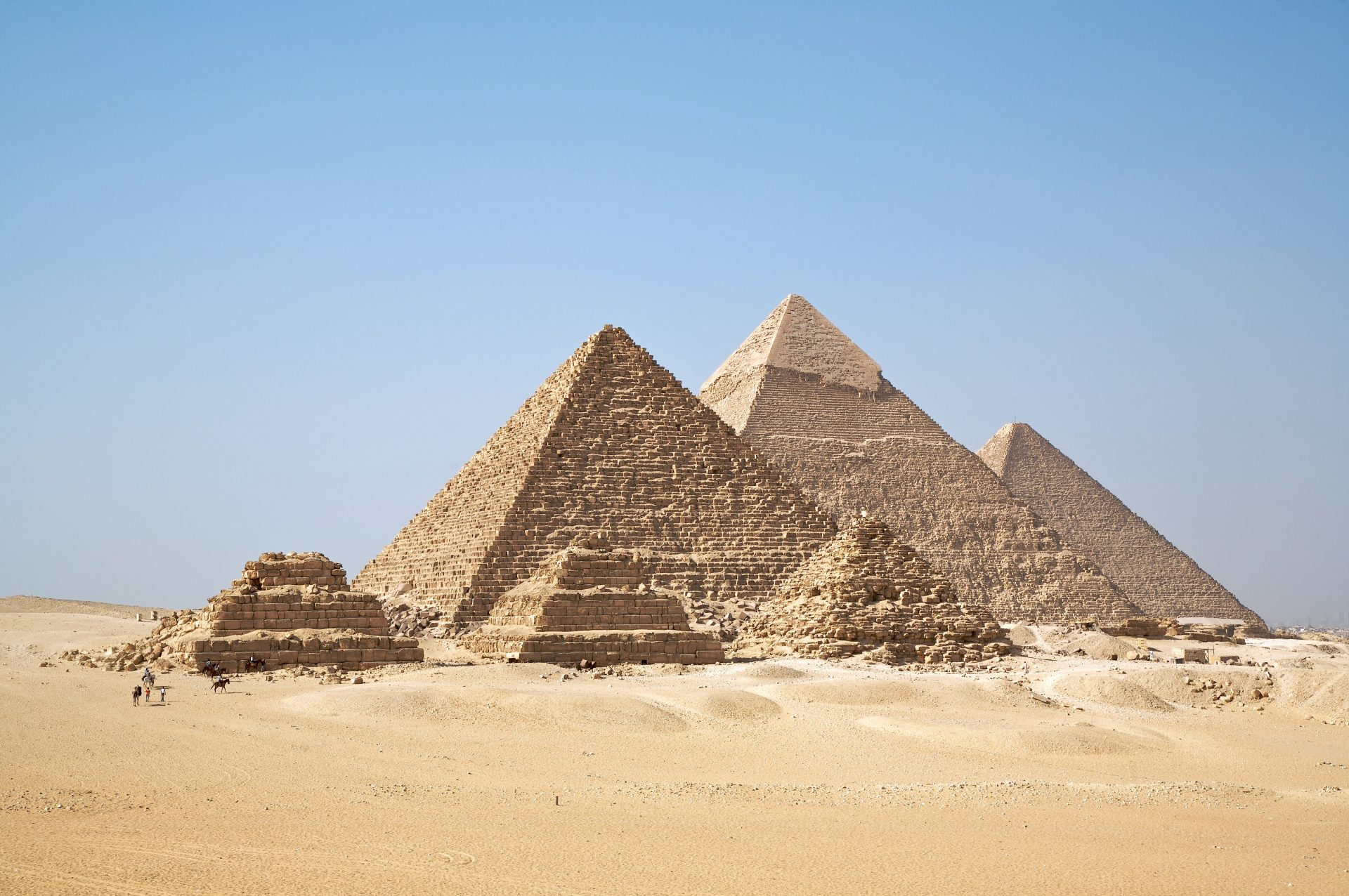 The Great Pyramids of Gizah