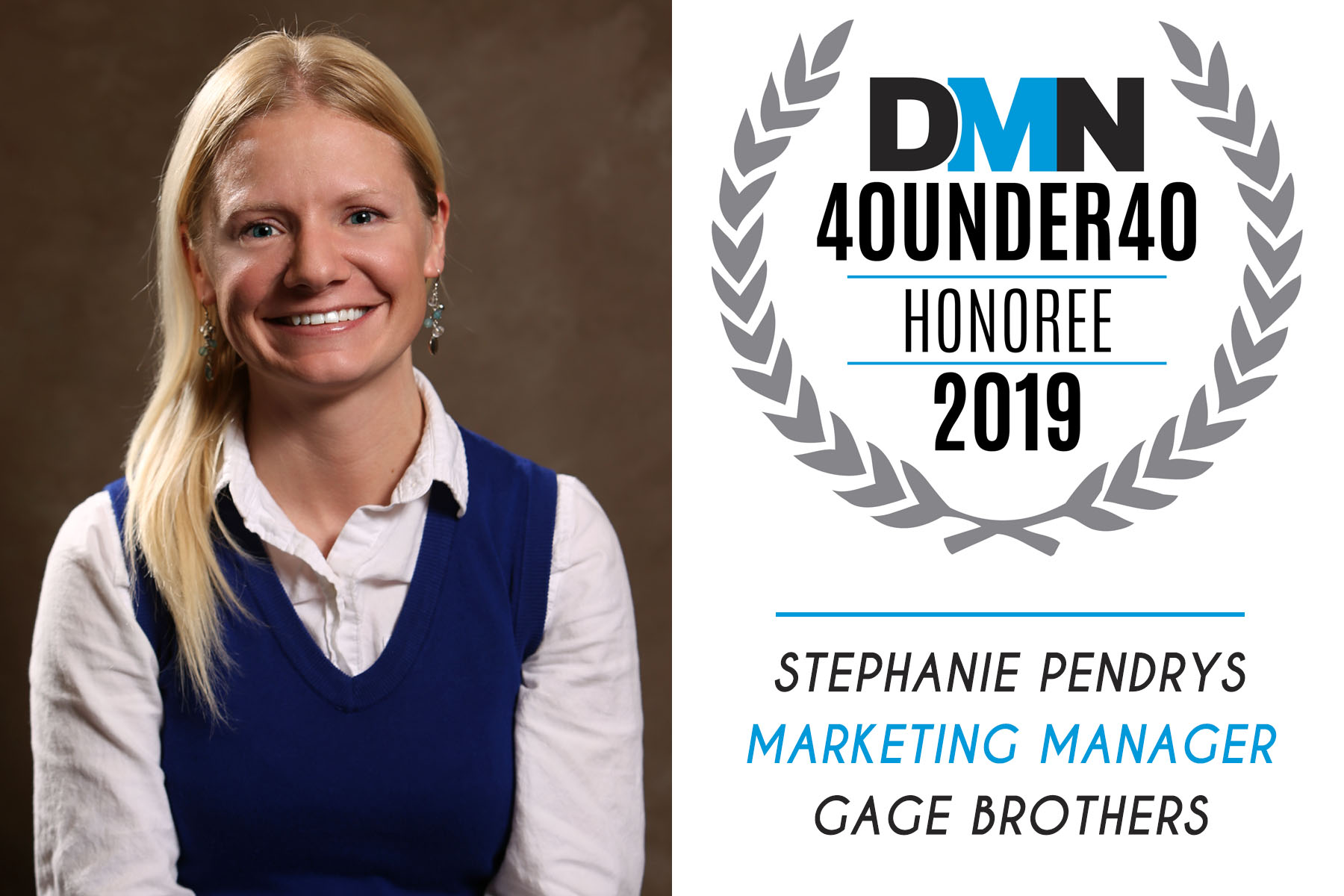 DMN 40 Under 40 - Steph Pendrys